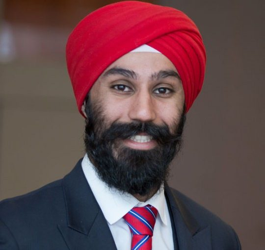 RAJ GREWAL, MP for Brampton East
